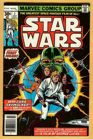 Star Wars #1 (Reprint) VF+