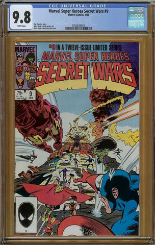 Marvel Super Heroes Secret Wars #9 CGC 9.8