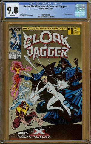 Mutant Misadventures of Cloak and Dagger #1 CGC 9.8