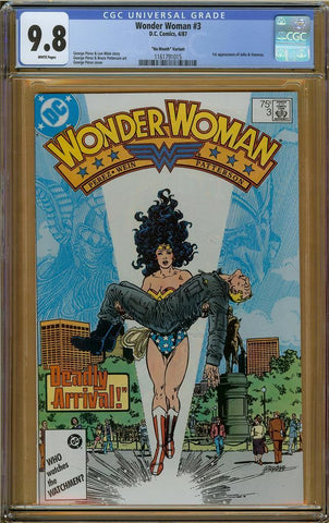 "Wonder Woman (1988) #3 ""No Month Variant"" CGC 9.8"