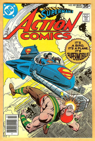 Action Comics #481 NM-