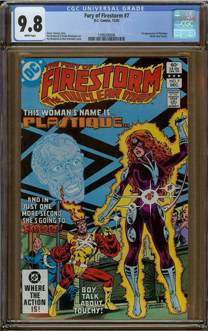 Fury of Firestorm #7 CGC 9.8