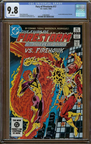 Fury of Firestorm #17 CGC 9.8