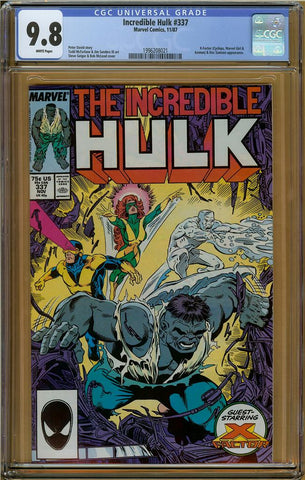 Incredible Hulk #337 CGC 9.8