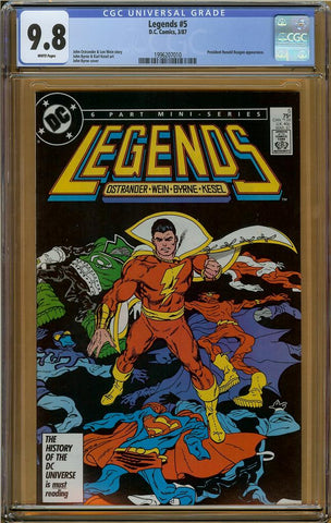 Legends #5 CGC 9.8