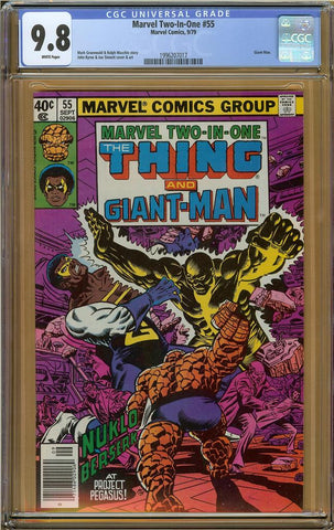 Marvel Two-In-One #55 CGC 9.8