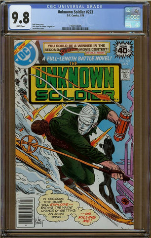 Unknown Soldier #223 CGC 9.8