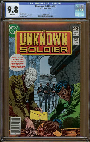 Unknown Soldier #232 CGC 9.8