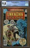 Unknown Soldier #234 CGC 9.8