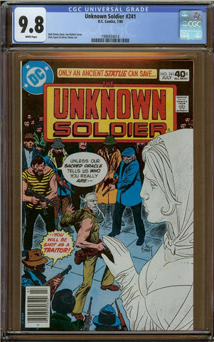 Unknown Soldier #241 CGC 9.8