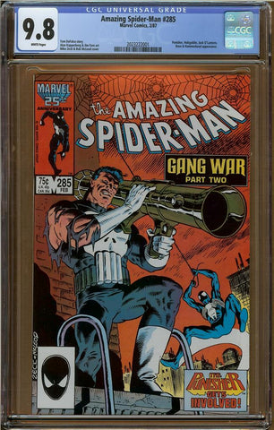Amazing Spider-Man #285 CGC 9.8
