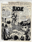 "Ghostly Tales #124 ""Blaque and Wight"" Complete Story"