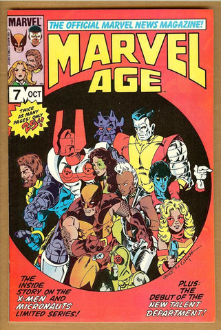 Marvel Age #7 VF/NM