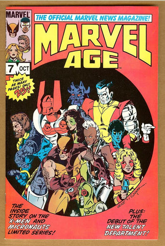 Marvel Age #7 NM-
