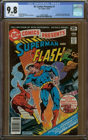 DC Comics Presents #1 CGC 9.8