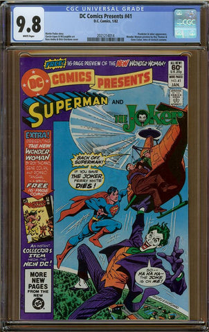 DC Comics Presents #41 CGC 9.8