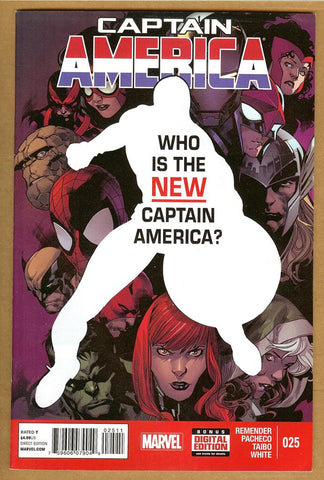 Captain America #25 VF+