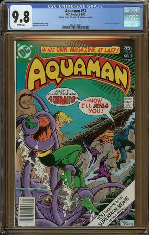 Aquaman #57 CGC 9.8 Double Cover