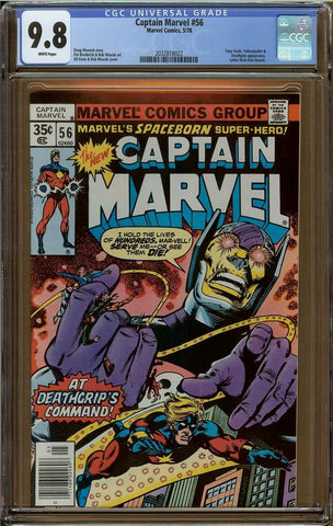 Captain Marvel #56 CGC 9.8