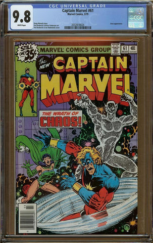 Captain Marvel #61 CGC 9.8