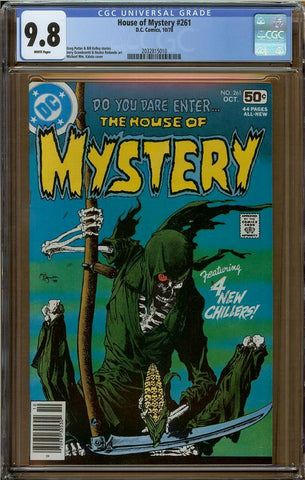 House of Mystery #261 CGC 9.8