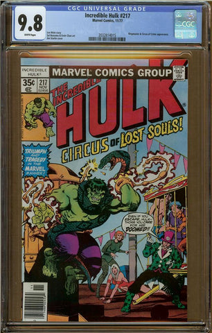 Incredible Hulk #217 CGC 9.8