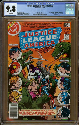 Justice League of America #160 CGC 9.8