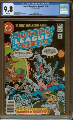 Justice League of America #180 CGC 9.8