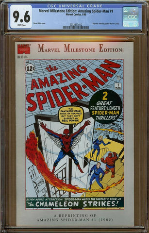 Marvel Milestone Edition: Amazing Spider-Man #1 CGC 9.6