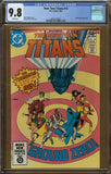 New Teen Titans #10 CGC 9.8