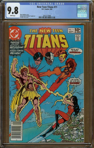 New Teen Titans #11 CGC 9.8