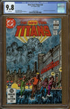 New Teen Titans #26 CGC 9.8