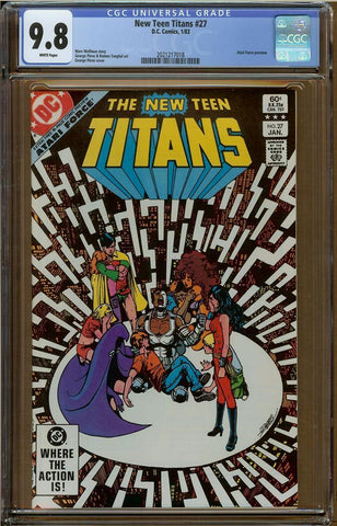 New Teen Titans #27 CGC 9.8