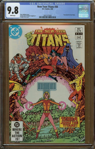 New Teen Titans #30 CGC 9.8