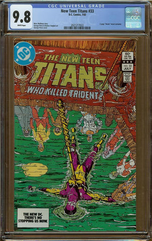 New Teen Titans #33 CGC 9.8
