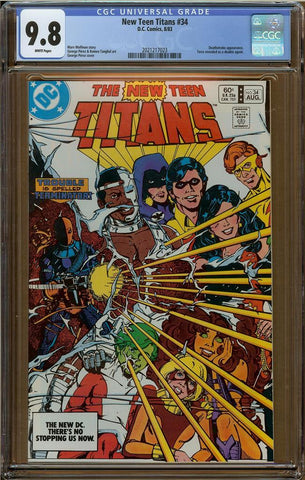New Teen Titans #34 CGC 9.8