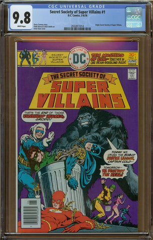 Secret Society of Super Villians #1 CGC 9.8