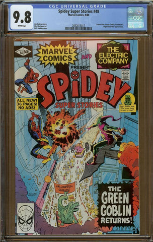 Spidey Super Stories #48 CGC 9.8