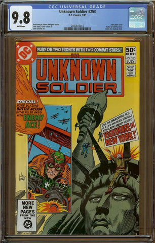 Unknown Soldier #253 CGC 9.8