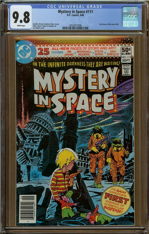 Mystery In Space #111 CGC 9.8