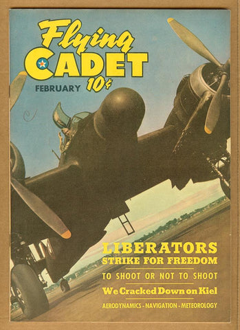 Flying Cadet v2 #2 VG/F