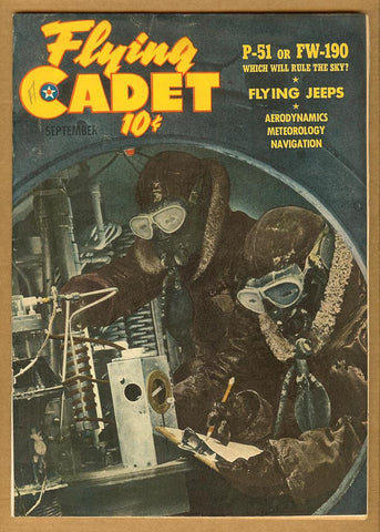 Flying Cadet v2 #7 VG-