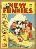 New Funnies #68 F/VF