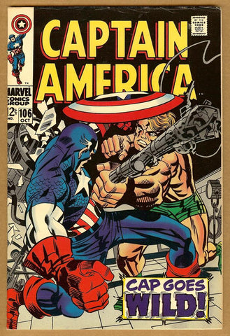 Captain America #106 F/VF
