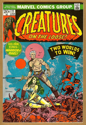 Creatures on the Loose #21 VF/NM