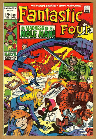 Fantastic Four #89 VF/NM