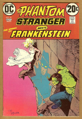 Phantom Stranger #26 VF/NM Signed