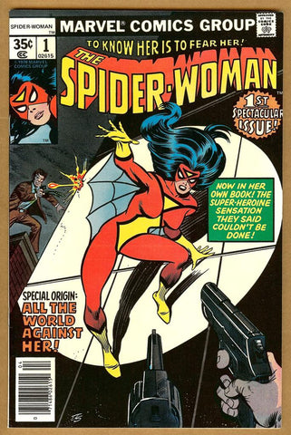 Spider-Woman #1 NM-