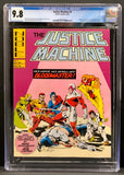 Justice Machine #1-3 CGC 9.8 Set