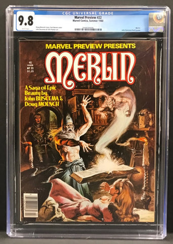 Marvel Preview #22 CGC 9.8